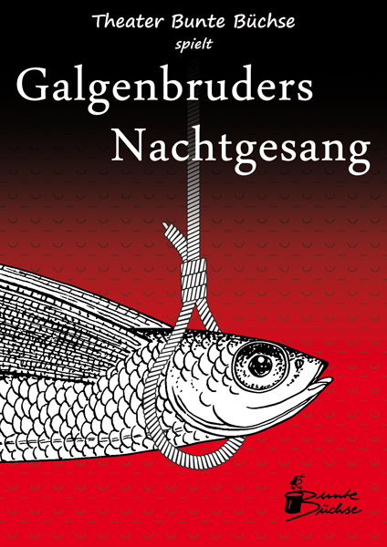 Postcard for Galgenbruders Nachtgesang by Theater Bunte Büchse