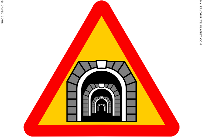 Caution, tunnel at end of tunnel