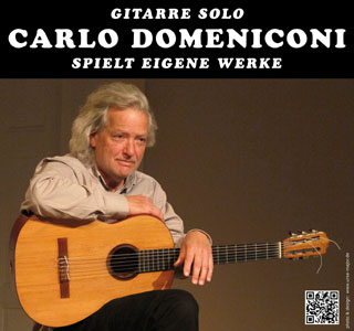Carlo Domeniconi concerts in Berlin, May - July 2016