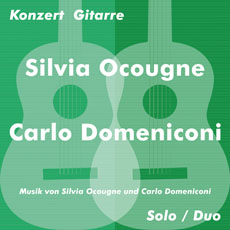 Silvia Ocougne and Carlo Domeniconi concert in Berlin, March 2016