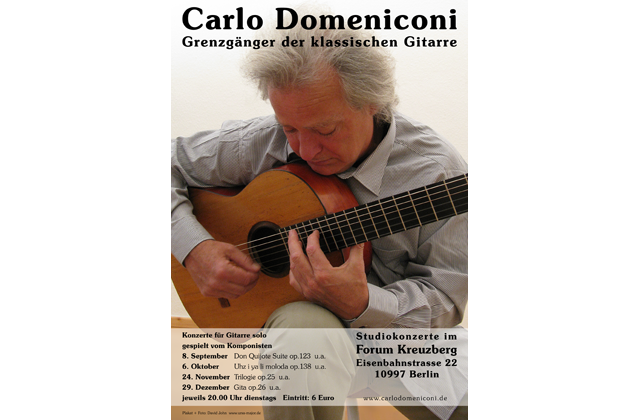 Carlo Domeniconi CD series Selected Works, designed by Ursa Major Design in Berlin